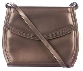 Salvatore Ferragamo Metallic Leather Crossbody Bag