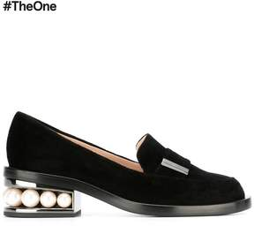 Nicholas Kirkwood 35mm Casati Pearl moccasin loafers