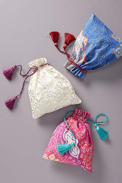 Anthropologie Printed Gift Bags, Set of 3