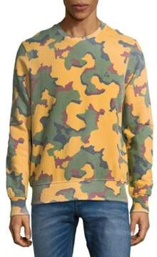 Eleven Paris Camouflage Cotton Sweatshirt