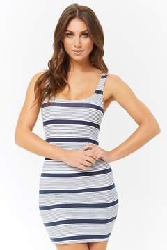 Striped Bodycon Tank Dress