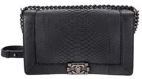 Chanel Python Medium Plus Boy Bag