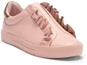 Joie Daw Ruffle Leather Sneaker