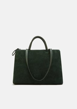 Marsèll 4 Dritta Suede Bag Vit.Rov. Rasato Green Size: OS