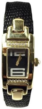 Audemars Piguet Promesse 18K Yellow Gold & Diamonds 18mm Womens Watch