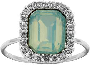 Lauren Conrad Green Cocktail Halo Ring