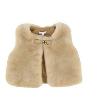 Chloé Sleeveless Faux-Fur Vest, Size 12-18 Months