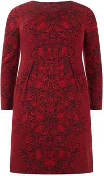 Basler Embellished Paisley Dress