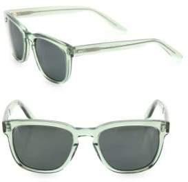 Barton Perreira Coltrane Absint 54MM Square Sunglasses