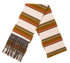Chanel Paris-Dallas Cashmere Stripe Scarf