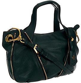Oryany Pebble Leather Lian Satchel w/ Convertible Strap