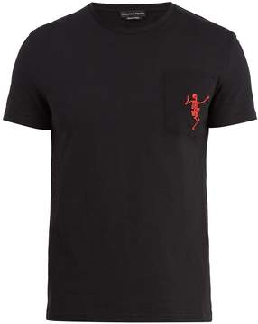 Alexander McQueen Dancing skeleton cotton T-shirt