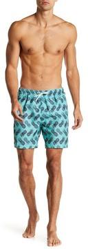 Trunks San O Sketchy Pineapple Swim