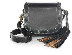 Frye Cut-Out Mini Leather Shoulder Bag