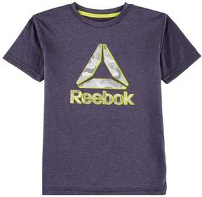 Reebok Little Boys Heather Camo Logo T-Shirt