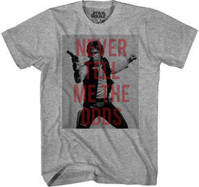 Star Wars Novelty T-Shirts Han Solo Overlay Graphic Tee