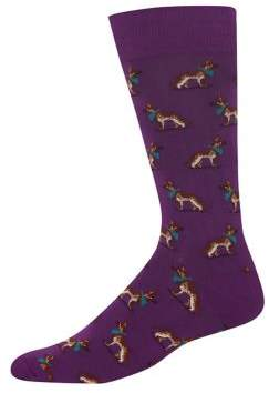 Hot Sox German Shepherd Socks