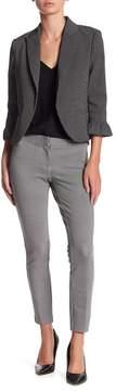 Atelier Luxe Micro Houndstooth Slim Pants (Petite)