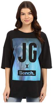 Bench Jess Glynne x BenchTM collaboration- Keep Laughing Short Sleeve Tee