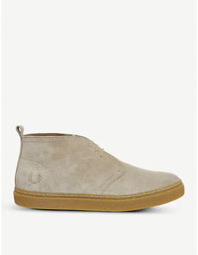 Fred Perry Hawley suede trainers