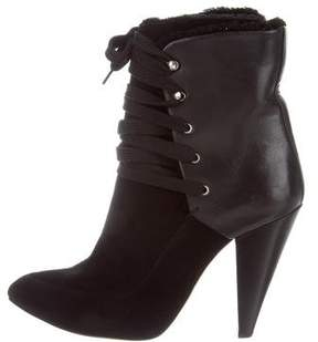 IRO Suede Lace-Up Boots