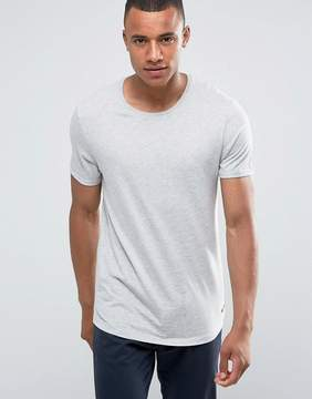 Esprit Longline T-Shirt with Roll Sleeve