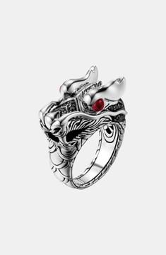 John Hardy Men's 'Naga Lava' Dragon Ring