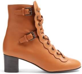 Chloé Orson lace-up ankle boots