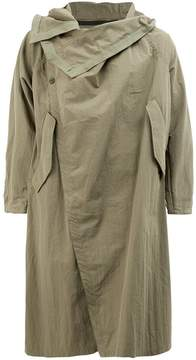 Julius double breasted wrap coat