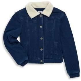 Splendid Toddler's, Little Girl's & Girl's Buttoned Sherpa Jacket