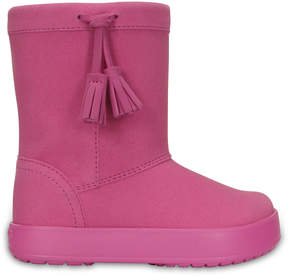 Crocs Party Pink Lodge Point K Boots