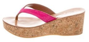 K Jacques St Tropez Suede Thong Sandals