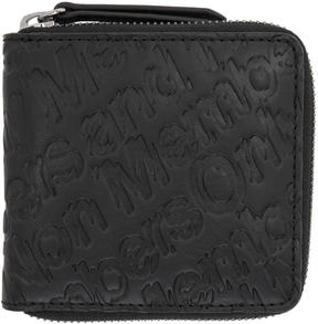 Stella McCartney Black Members Zip Wallet