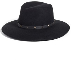 Eric Javits Women's Karli Wool Felt Wide Brim Hat - Black