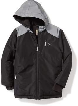 Old Navy Go-Warm Reflective-Trim Snowboard Jacket for Boys