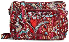 Vera Bradley Iconic RFID Hipster Cross-Body Bag