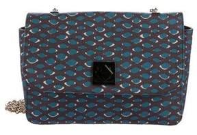 M Missoni Printed Flap Crossbody Bag