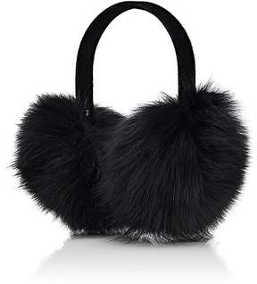 Barneys New York WOMEN'S FOX-FUR EARMUFFS