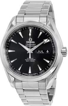 Omega Aqua Terra Annual Calendar Automatic Black Dial Stainless Steel Men's Watch