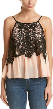 Do & Be DO+BE Do+Be Sleeveless Lace Top
