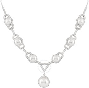 Bella Pearl Sterling Silver Pearl Necklace