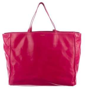 Saint Laurent Reversible Shopper Tote - PINK - STYLE
