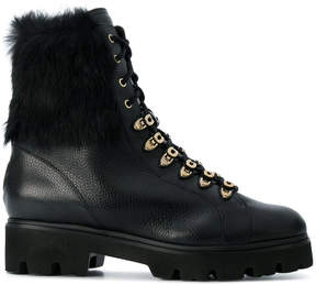 Baldinini fur detail boots