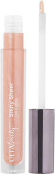 ULTA Shiny Sheer Lip Gloss - Bare (sheer warm natural with shimmer and slight silver glitter)