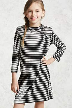 Forever 21 Girls Striped Dress (Kids)