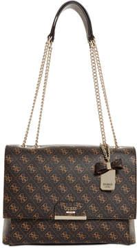 GUESS Ryann Signature Chain Shoulder Bag