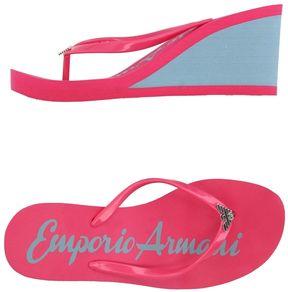 Emporio Armani Toe strap sandals