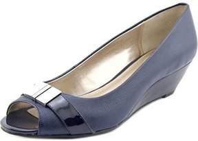 Alfani Chorde Women Open Toe Synthetic Wedge Heel.