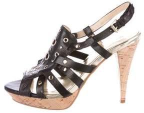 MICHAEL Michael Kors Leather Cage Sandals