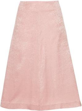 CITYSHOP velvet A-line skirt